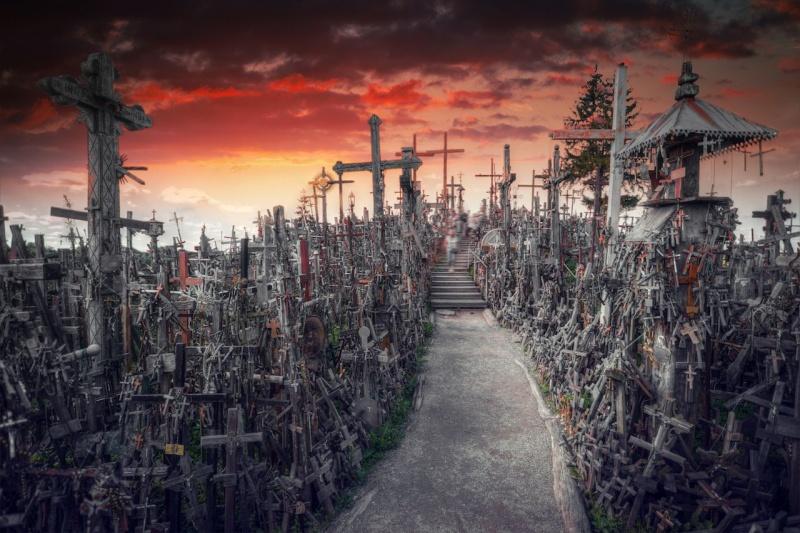 Nejdojemnějším památníkem Pobaltí je Hora křížů