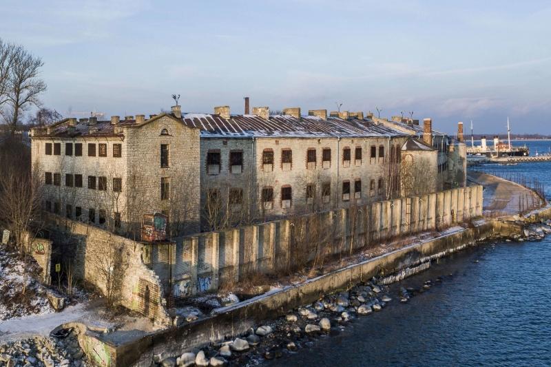 Věznice Mořská pevnost Patarei v Estonsku je otevřena i pro návštěvníky